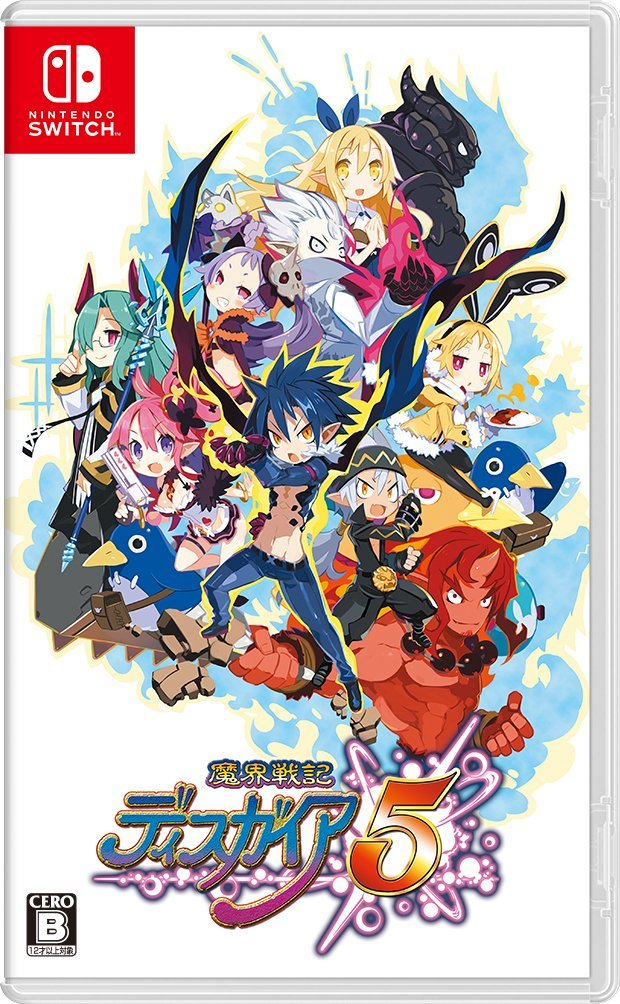 Disgaea 5 complete Switch JP