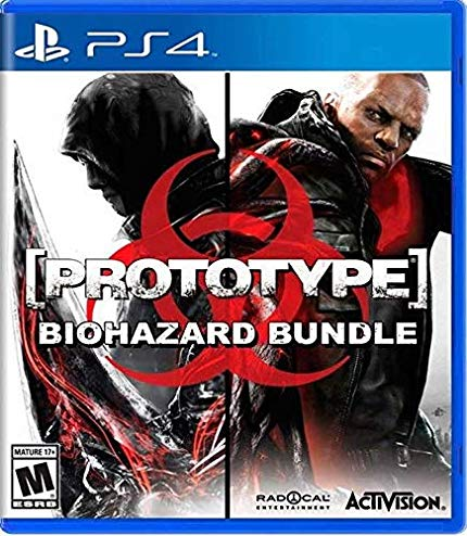 PS4 Prototype: Biohazard Bundle 2 em 1 (PlayStation 4)