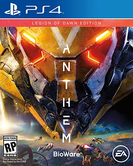 PS4 Anthem: Legion of Dawn Edition