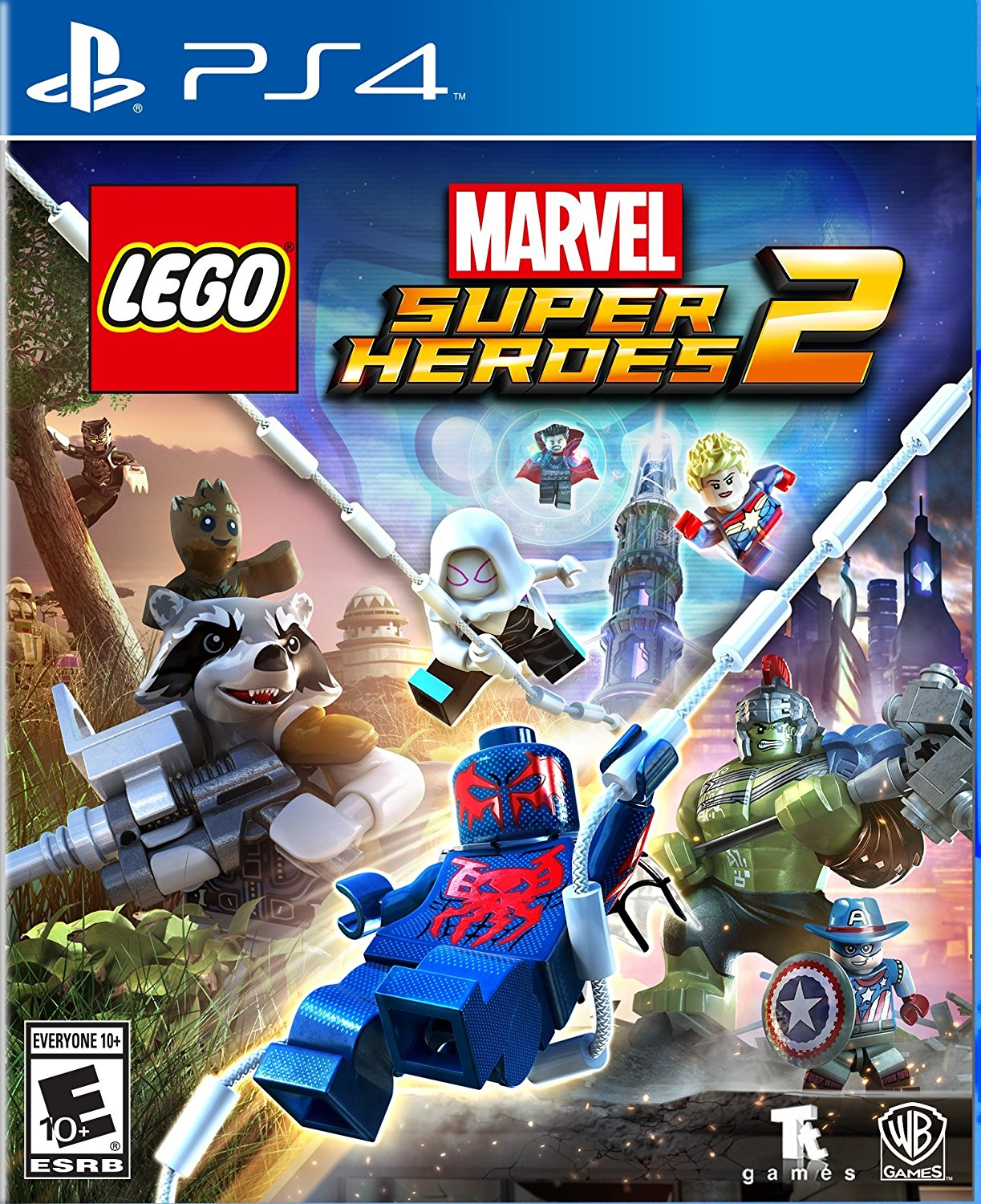 PS4 LEGO Marvel Super Heroes 2 em Portugues (PlayStation 4)