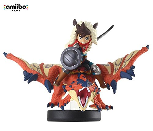 Amiibo Rathalos and Rider (Male) - Moster Hunter Stories