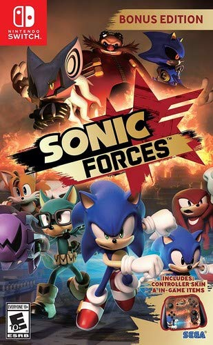 Sonic Forces Bonus Edition Nintendo Switch USA