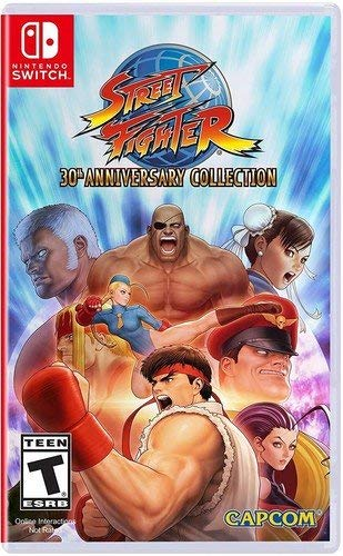 Street Fighter 30th Anniversary Collection Nintendo Switch USA